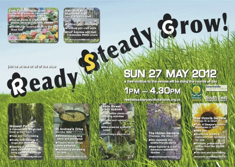 Ready Steady Grow - Sunday 27th May